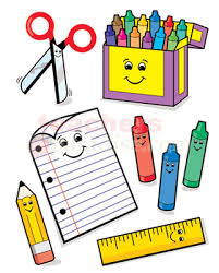 Image result for free clipart for school supplies