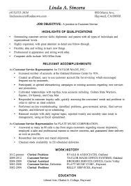 Example Resume  Functional Resume Sample Customer Service