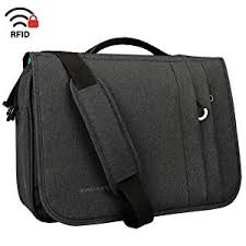 Amazon.com: KROSER <b>Briefcase Laptop Messenger Bag</b> 16 inch ...