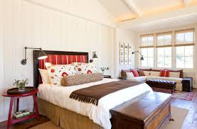 glen ellen residence example of a classic bedroom design in san francisco with white walls and bedroom sconce lighting
