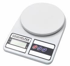 <b>Кухонные весы GOODHELPER</b> Весы кухонные <b>KS</b>-<b>S01</b>, белый ...