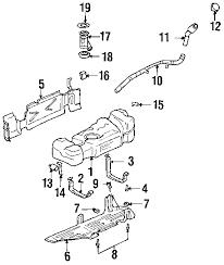 parts com® chevrolet trailblazer fuel system components oem parts 2004 chevrolet trailblazer ls l6 4 2 liter gas fuel system components