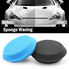 2 PCS <b>Car</b> Wax <b>Sponge</b> Applicator Pads Tyre Dressing Foam Anti ...