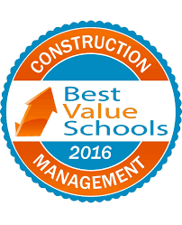50 best value schools for construction management 2016 best click here for high resolution badge