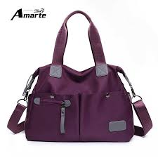 <b>High</b> Quality Nylon Women Shoulder Bag Unisex Large Capacity ...