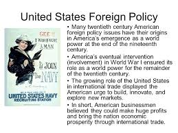 essays us foreign policy   essay explain us foreign policy after ww essay image