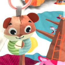 <b>Развивающий коврик</b> для новорожденных с игрушками <b>Funkids</b> ...