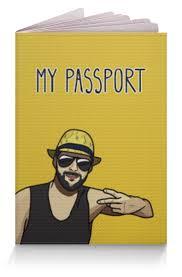 <b>Обложка</b> для паспорта <b>Солнечная обложка с</b> модным парнем ...