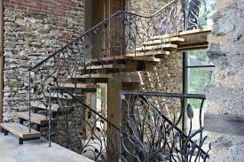 Custom Stair Railing Handmade Stair Railing By Artesano Iron Works Home Decor