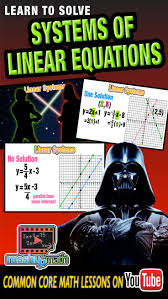 best ideas about algebra equations solving a neat star wars themed common core algebra lesson on finding the solution to a system of linear equations