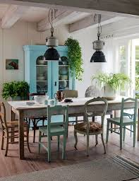 casual dining great industrial lights mismatched chairs casual dining room lighting