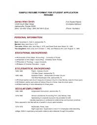 examples of resumes resume example high school basic job 81 appealing basic resume samples examples of resumes
