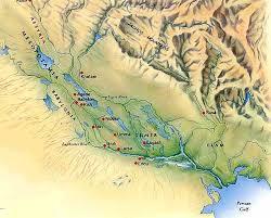 Výsledek obrázku pro mapa mezopotámie