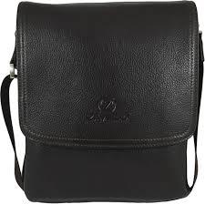Men's <b>Genuine Leather</b> Medium Cross Body Shoulder <b>Messenger Bag</b>