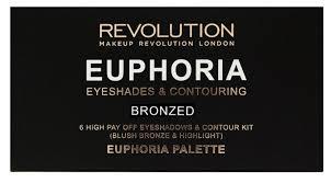 REVOLUTION <b>Палетка</b> для макияжа Euphoria Palette Bronzed ...