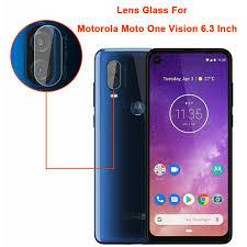 "For Motorola One Vision 6.3"" Ultra Slim <b>Back Camera Lens</b> Protector ..."