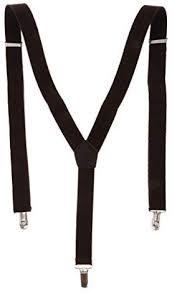 MagiDeal <b>Mens</b> Y-Back <b>Suspenders</b> Adjustable Elastic <b>3</b> Clip ...