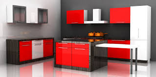 modular kitchen colors:  good looking modular kitchen design ideas with white brown colors