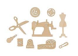 """""""Mr. Carving"""" ВД-894 Мини-<b>набор</b> """"Швейный"""" <b>фанера</b> 2-6 см"""