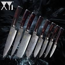<b>XYj</b> Kitchen <b>Damascus Steel</b> Knives New Arrival 2018 <b>VG10</b> Core 8 ...