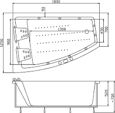 <b>Акриловая ванна Victory Spa</b> Gemini 180 S-3 R купить в магазине ...