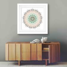 popular items for mint green decor on etsy geometric art print boho wall bedroom bohemian college bedroomravishing blue office chair related