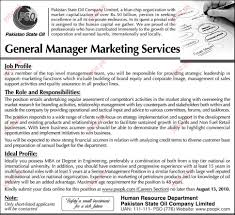 general manager marketing required in state oil jobs general manager marketing required in state oil