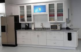 kitchen cabinets glass doors design style: glass materials ideas of diy kitchen cabinet door replacement for modern interior design all white