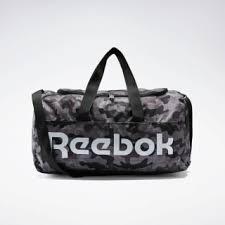 Reebok Спортивная <b>сумка</b> Active <b>Core</b> Graphic Medium - черный ...