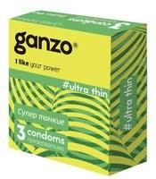 «Ультратонкие <b>презервативы Ganzo Ultra thin</b> - 3 шт ...