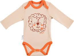 <b>Боди</b> для новорожденных <b>Viva</b> Baby, цвет: бежевый. М4105-2 ...