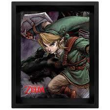 Купить Сувенир Pyramid <b>3D постер</b> The Legend Of Zelda: Twilight ...