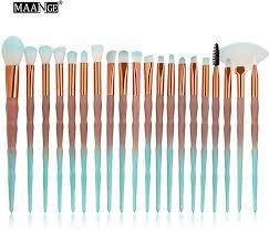 Pongfunsy Eye Makeup Brushes 20 pcs Rose Gold ... - Amazon.com