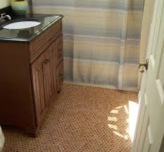 flooring bathroom wooden black
