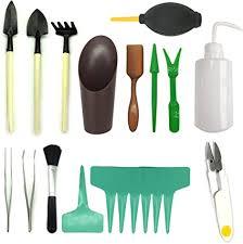 Amazon.com: <b>21 Pcs Mini</b> Garden Tools Set, Pietydeko Miniature ...