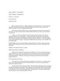 pro death penalty ornellas paper  pro death penalty ornellas paper viola online gmbh
