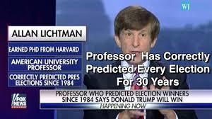 「Allan Lichtman,  American University」の画像検索結果
