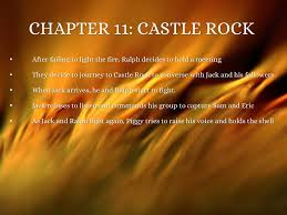english lotf by pia aguas chapter 11 castle rock