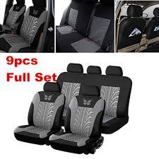 Automotive 9X <b>Universal Car Seat</b> Cover Full Set Front&Rear Seat ...