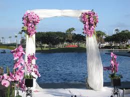 Decorating A Trellis For A Wedding Outdoor Wedding Ceremony Decorations 30 Rustic Backyard Wedding