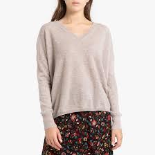 <b>Пуловер</b> из <b>кашемира</b> с v-образным вырезом из тонкого ...