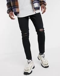 <b>Ripped Jeans</b> for <b>Men</b> | <b>Men's</b> Black & Skinny <b>Ripped Jeans</b> | ASOS