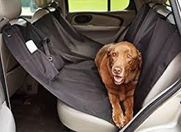 AmazonBasics Waterproof <b>Car</b> Hammock Rear <b>Seat Cover for</b> Pets
