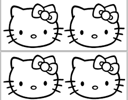 hello kitty princess clipart clipartfest hello kitty cake template