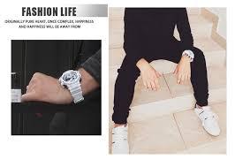 <b>SMAEL</b> Men <b>Watches</b> White <b>Sport Watch</b> LED <b>Digital</b> 50M ...