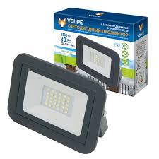 <b>Прожектор светодиодный Volpe</b> Sensor ULF-Q512 30 Вт 2100 Лм ...