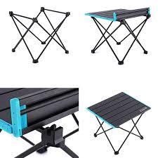 Portable <b>Ultra Light Aluminum Folding</b> Table Frame Camping ...