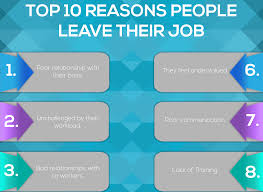 top reasons people leave their job utility people top 10 reasons people leave their job