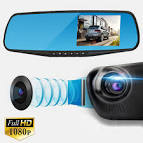 Rerview Mirror in Car Camera DVR Dual Dash Cam Review UK