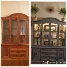 ideas china hutch decor pinterest: grandmas china cabinet transformed decorating in southlake texas
